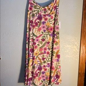 Large- LulaRoe Maxi Skirt